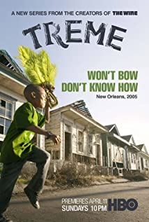 Treme (2010) cover