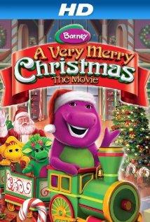 Barney: A Very Merry Christmas: The movie 2011 poster