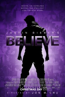 Justin Bieber's Believe (2013) cover