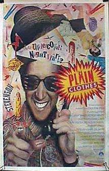 Plain Clothes 1987 poster