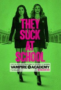 Vampire Academy (2014) cover