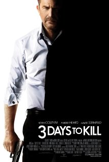 3 Days to Kill 2014 poster