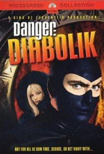 Diabolik (1968) cover