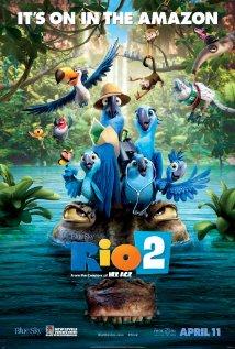 Rio 2 (2014) cover
