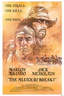 The Missouri Breaks (1976) cover