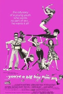 You're a Big Boy Now 1966 poster