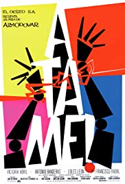 Átame! (1989) cover