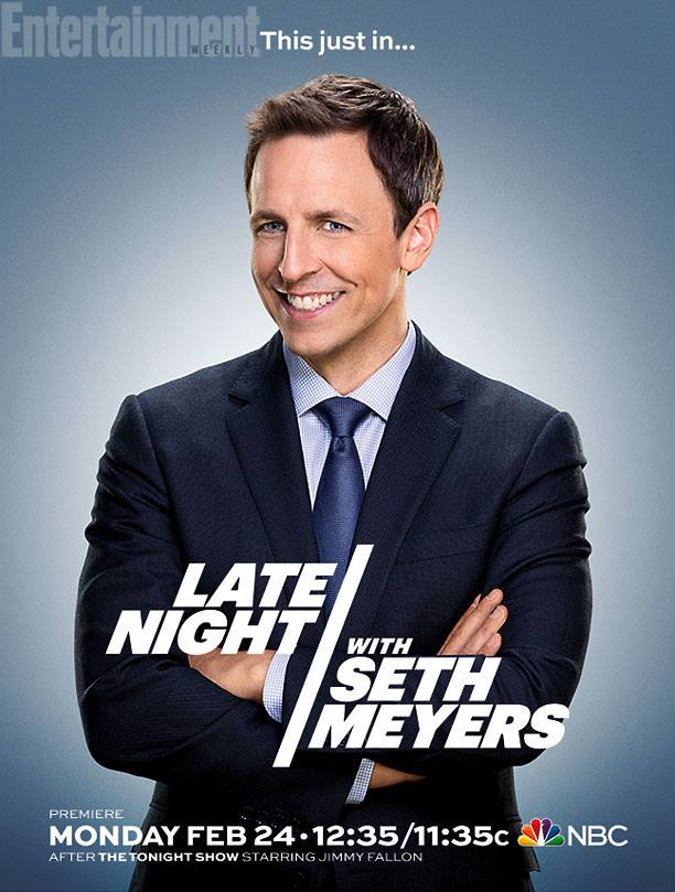 Late Night with Seth Meyers 2014 poster