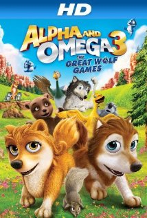 Alpha and Omega 3: The Great Wolf Games 2014 poster