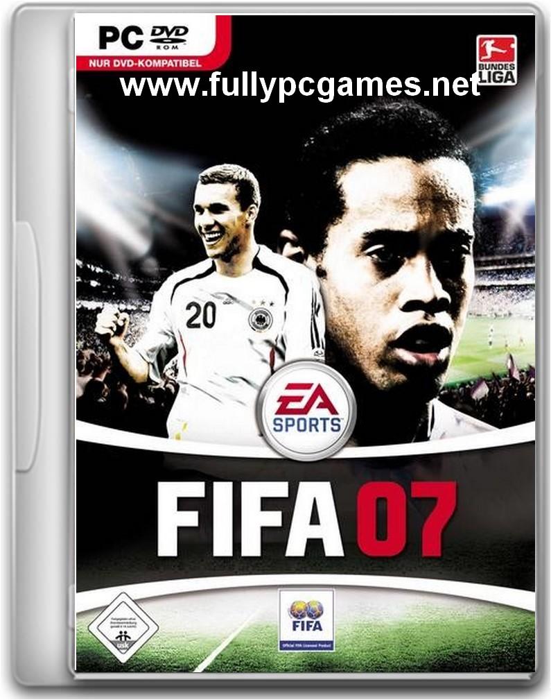 EA Sports FIFA 07 (2006) cover