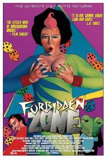 Forbidden Zone (1980) cover