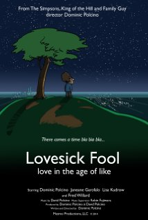 Lovesick Fool - Love in the Age of Like 2014 poster