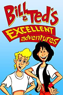 Bill & Ted's Excellent Adventures (1990) cover