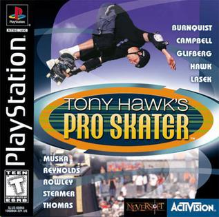 Tony Hawk's Pro Skater (1999) cover