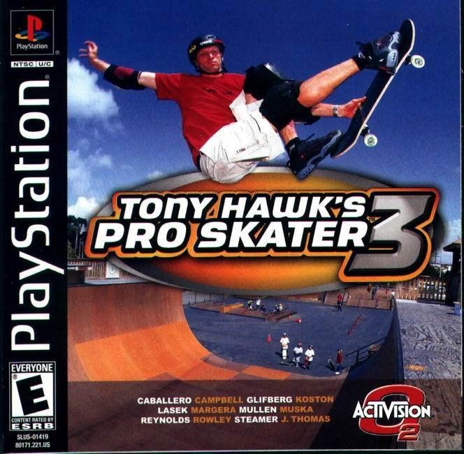 Tony Hawk's Pro Skater 3 (2001) cover