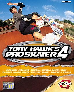 Tony Hawk's Pro Skater 4 (2002) cover