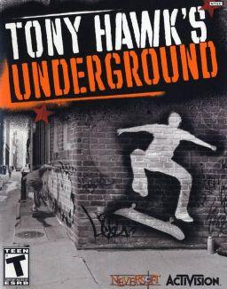 Tony Hawk's Underground (2003) cover