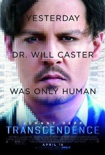 Transcendence (2014) cover
