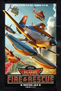 Planes: Fire & Rescue 2014 poster