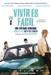 Vivir es fácil con los ojos cerrados (2013) cover