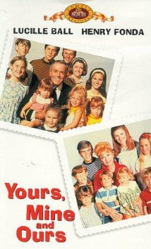 Yours, Mine and Ours (1968) cover