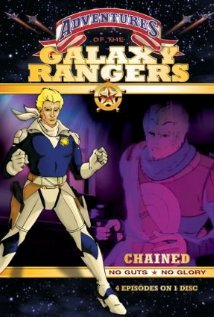 The Adventures of the Galaxy Rangers (1986) cover