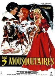 Les trois mousquetaires (1974) cover