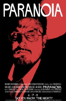 Paranoia 2011 poster