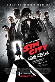 Sin City: A Dame to Kill For (2014) cover