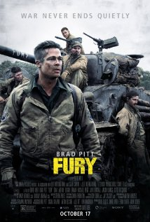 Fury (2014) cover