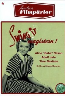 'Swing it' Magistern (1940) cover