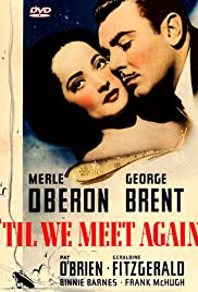 'Til We Meet Again (1940) cover
