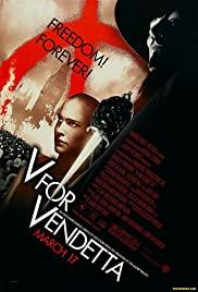 'V for Vendetta' Unmasked (2006) cover