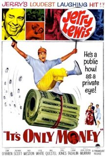 It's Only Money 1962 poster