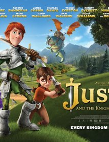 Justin and the Knights of Valour 2013 poster