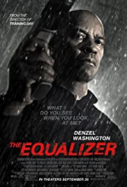 The Equalizer 2014 poster