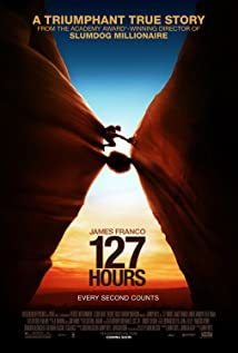127 Hours 2010 poster