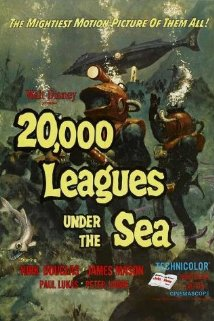 20,000 Leagues Under the Sea (1954) cover