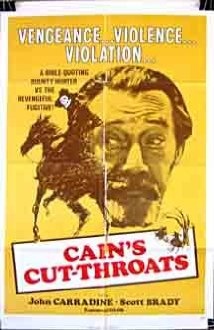 Cain's Cutthroats (1970) cover
