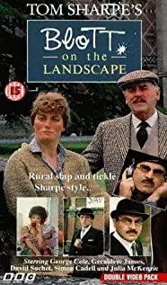Blott on the Landscape 1985 poster