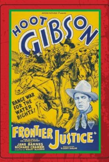Frontier Justice (1935) cover