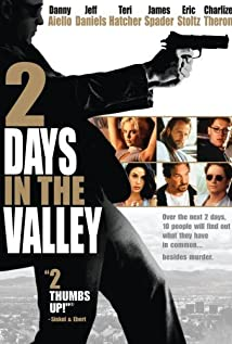 2 Days in the Valley 1996 poster