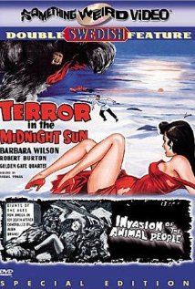 Invasion of the Animal People (1959) cover