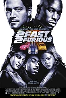 2 Fast 2 Furious (2003) cover