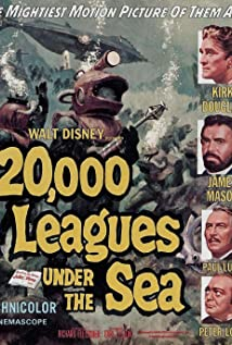 20000 Leagues Under the Sea (1954) cover
