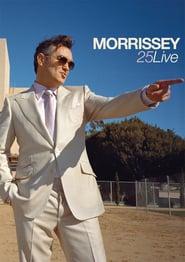 Morrissey: 25 Live 2013 poster
