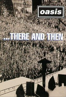 Oasis... There and Then 1996 poster