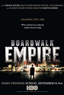 Boardwalk Empire (2010) cover