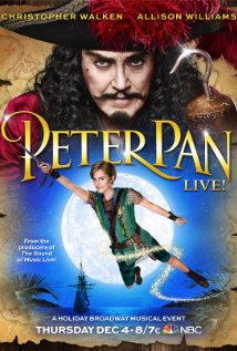 Peter Pan Live! (2014) cover