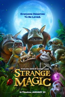 Strange Magic (2015) cover